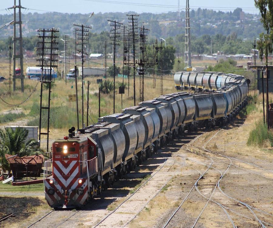 Muy buen primer trimestre de 2021 para el ferrocarril en el puerto de Bahía Blanca