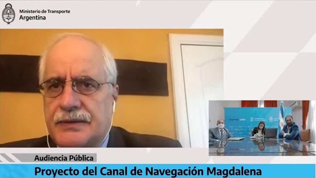 """Taiana: """"Es inadmisible que no se puedan comunicar los puertos bonaerenses entre sí"""""""