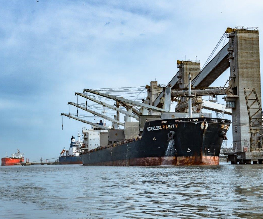 Las cifras de la Bolsa de Cereales muestran el buen momento del puerto bahiense