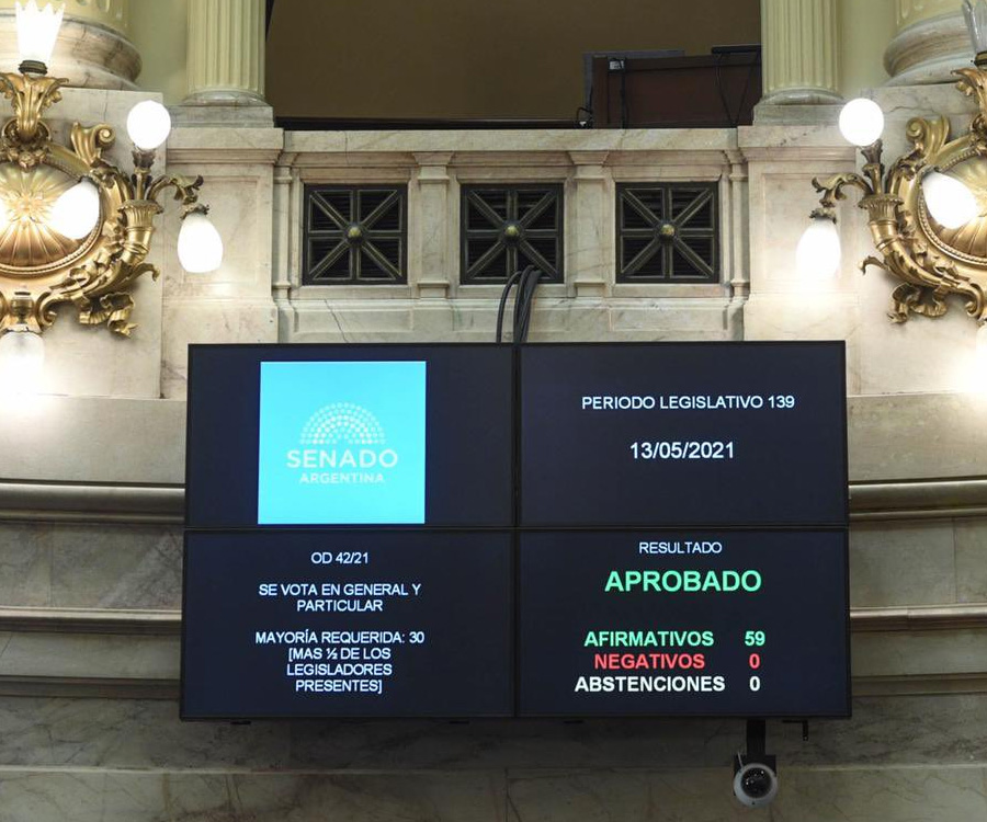 El Senado aprobó crear la Comisión Bicameral de Seguimiento de la Hidrovía
