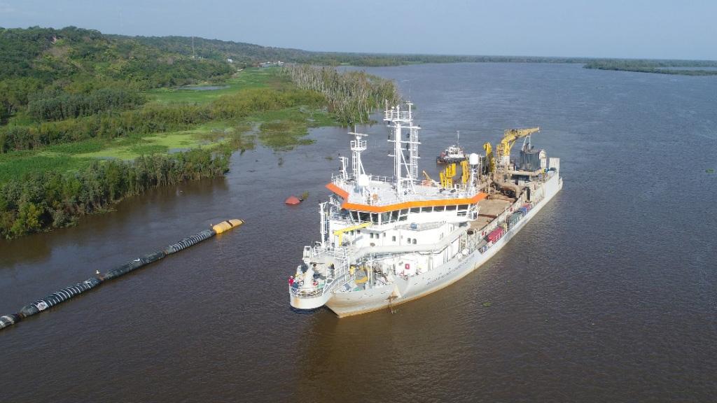 Jan de Nul anunció tareas de sobredragado para compensar la bajante del Paraná