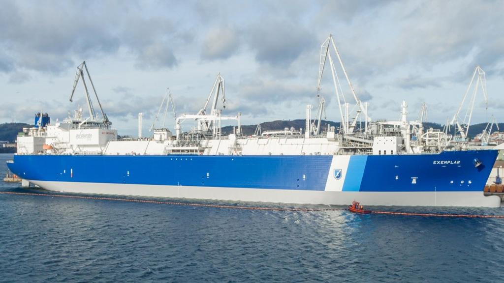 Navega rumbo a Bahía Blanca el segundo regasificador que operará este invierno