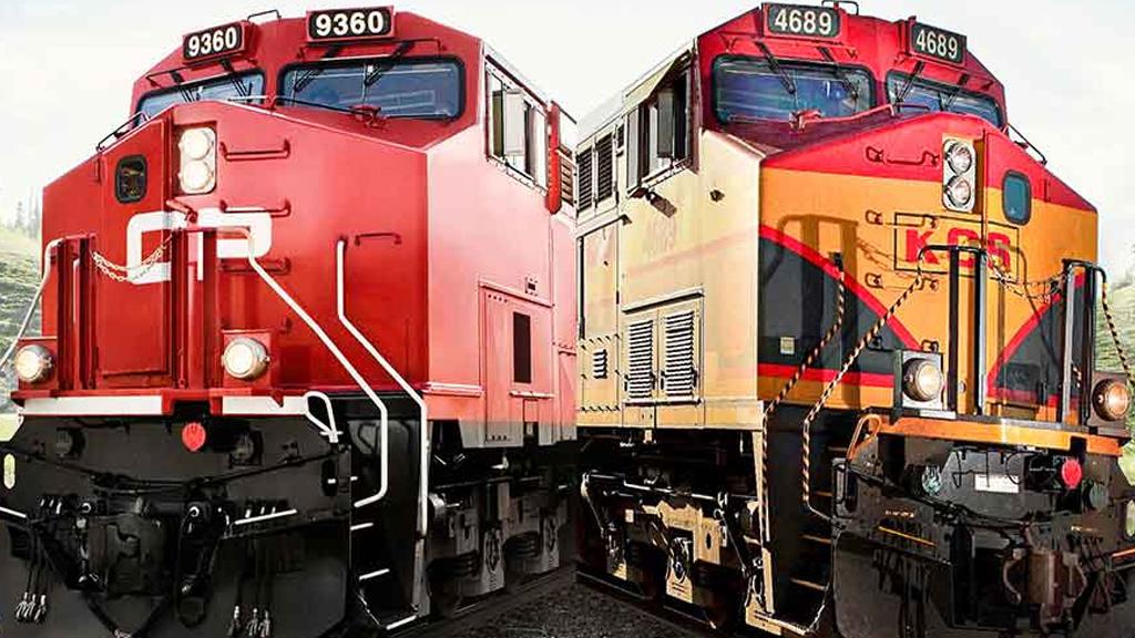 Una fusión ferroviaria crearía la primera red de trenes en toda Norteamérica