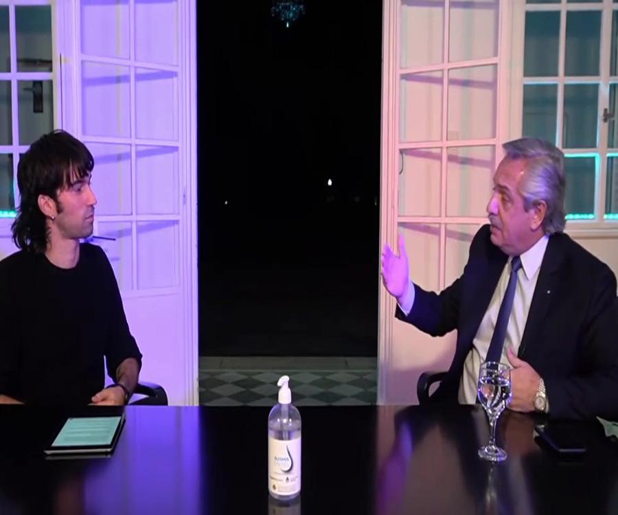 Video: dos definiciones de Alberto Fernández sobre la Hidrovía que dividen las aguas
