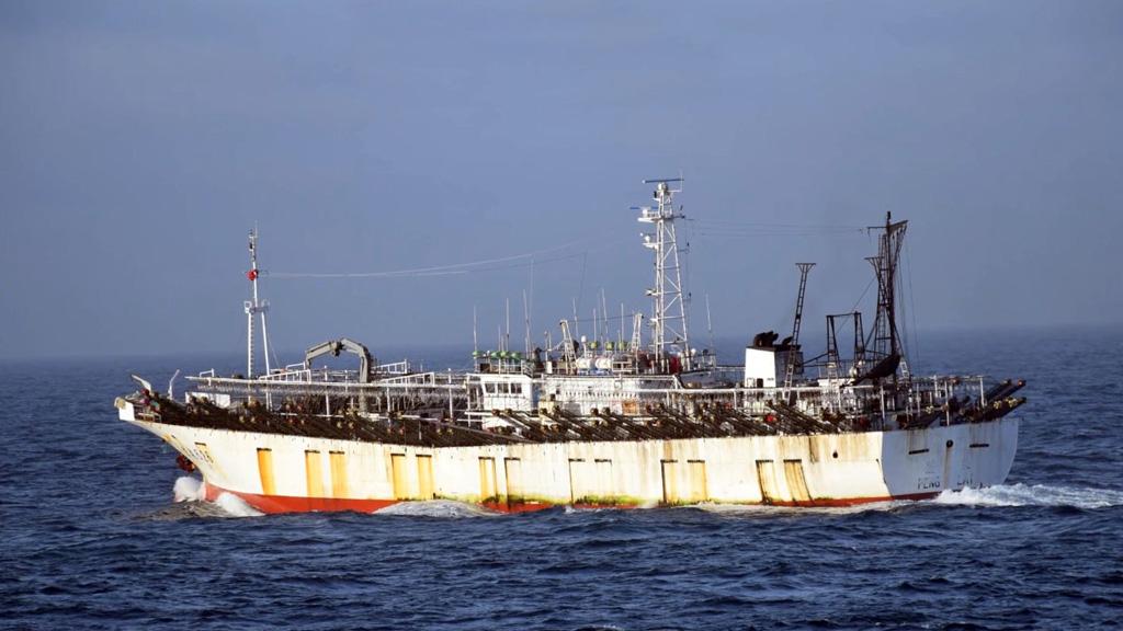 Preocupante informe de Oceana sobre la labor de los pesqueros chinos en Argentina