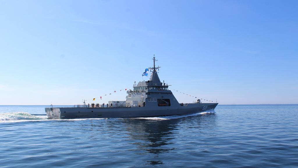 El miércoles será la recepción oficial en Mar del Plata del patrullero oceánico ARA Piedrabuena